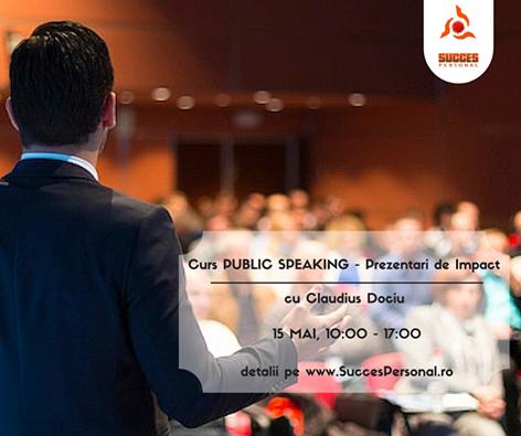 Curs Public Speaking